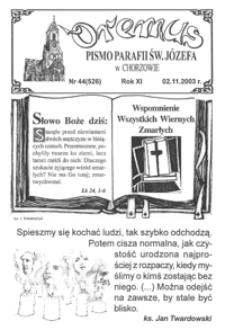 Oremus, 2003, R.10, nr44 (526)