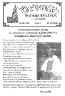 Oremus, 2003, R.10, nr49 (531)