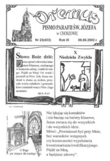 Oremus, 2002, R.9, nr23 (453)