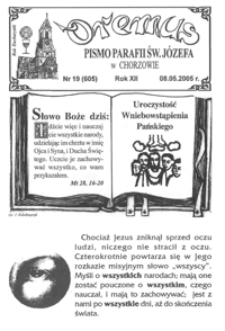 Oremus, 2005, R.12, nr19 (605)