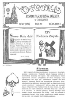Oremus, 2005, R.12, nr27 (613)