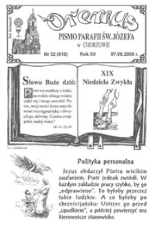 Oremus, 2005, R.12, nr32 (618)