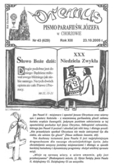 Oremus, 2005, R.12, nr43 (629)