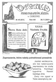 Oremus, 2005, R.12, nr45 (631)