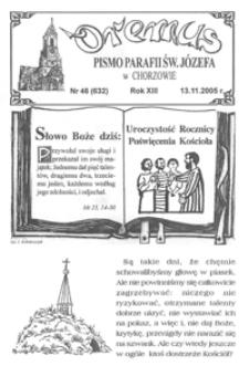 Oremus, 2005, R.12, nr46 (632)