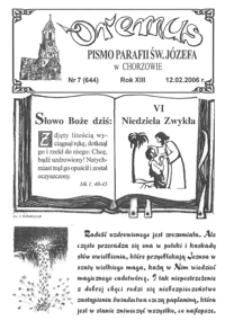 Oremus, 2006, R.13, nr7 (644)