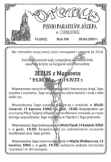Oremus, 2006, R.13, nr15 (652)