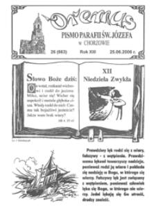 Oremus, 2006, R.13, nr26 (663)