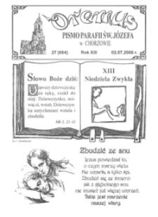 Oremus, 2006, R.13, nr27 (664)