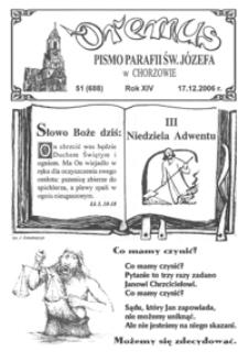Oremus, 2006, R.13, nr51 (688)