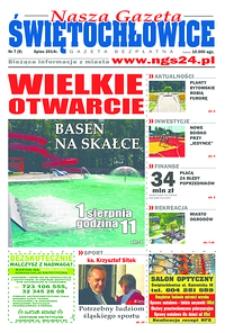 Nasza Gazeta Świętochłowice, 2014, nr7 (9)