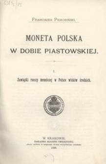 Moneta polska w dobie piastowskiej