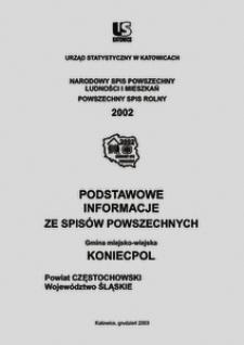 Koniecpol. Powiat częstochowski. Województwo śląskie. Gmina miejsko-wiejska