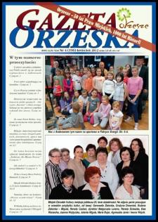 Gazeta Orzeska, 2012, nr4 (196)