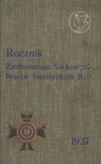 Rocznik Zjednoczenia Kurkowych Bractw Strzeleckich RP. Na rok 1937