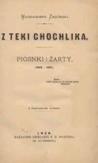 Z teki Chochlika. Piosnki i żarty (1865-1881)