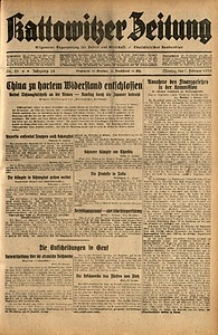 Kattowitzer Zeitung, 1932, Jg. 64, Nr.25