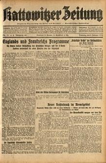 Kattowitzer Zeitung, 1932, Jg. 64, Nr.31