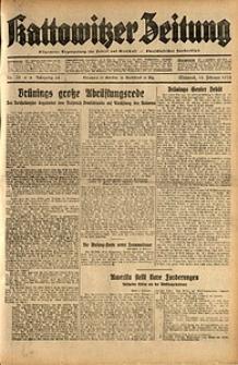 Kattowitzer Zeitung, 1932, Jg. 64, Nr.32