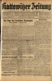Kattowitzer Zeitung, 1932, Jg. 64, Nr.50