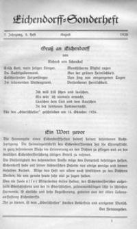 Der Oberschlesier, 1925, Jg. 7, [Nr 8]
