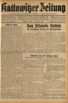Kattowitzer Zeitung, 1932, Jg. 64, Nr.93