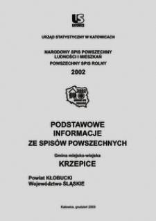 Krzepice. Powiat kłobucki. Województwo śląskie. Gmina miejsko-wiejska