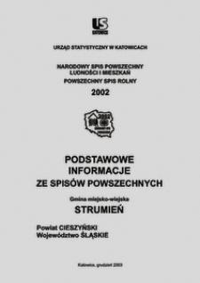 Strumień. Powiat cieszyński. Województwo śląskie. Gmina miejsko-wiejska