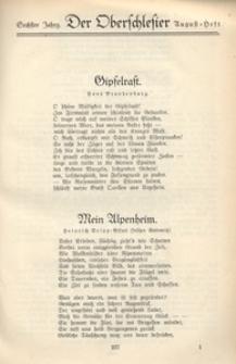 Der Oberschlesier, 1924, Jg. 6, [Heft 5]