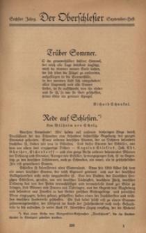 Der Oberschlesier, 1923, Jg. 6, [Heft 6]
