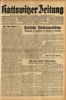 Kattowitzer Zeitung, 1932, Jg. 64, Nr.135