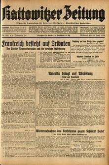Kattowitzer Zeitung, 1932, Jg. 64, Nr.141