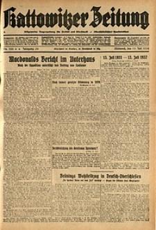 Kattowitzer Zeitung, 1932, Jg. 64, Nr.158
