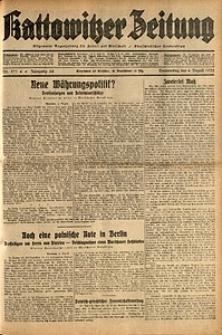 Kattowitzer Zeitung, 1932, Jg. 64, Nr.177