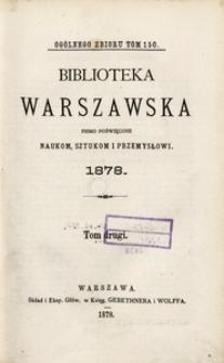 Biblioteka Warszawska, 1878, T. 2