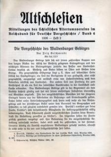 Altschlesien, 1936, Bd. 6, H. 2