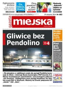 Gazeta Miejska Gliwice Zabrze, 2014, nr 683