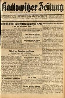 Kattowitzer Zeitung, 1932, Jg. 64, Nr.213