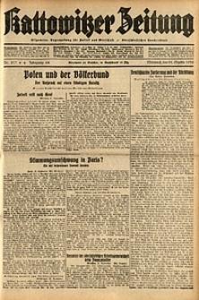 Kattowitzer Zeitung, 1932, Jg. 64, Nr.217