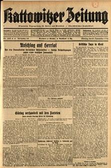 Kattowitzer Zeitung, 1932, Jg. 64, Nr.268