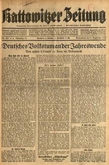 Kattowitzer Zeitung, 1932, Jg. 64, Nr.301