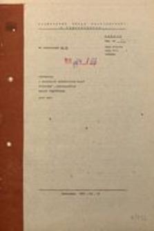 Informacja o realizacji ważniejszych zadań społeczno-gospodarczych miasta Częstochowa, luty 1987