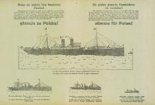 Niema już pieknej floty handlowej Niemiec = Die schöne deutsche Handelsflotte ist vernichtet!
