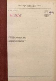 Informacja o realizacji ważniejszych zadań w zakresie działalności finansowej uspołecznionych przedsiębiorstw województwa częstochowskiego, 1989, nr 3