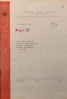 Zapasy i zużycie materiałów w przedsiębiorstwach przemysłowych, budowlanych i transportowych województwa częstochowskiego w 1986 roku
