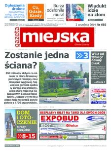 Gazeta Miejska Gliwice Zabrze, 2014, nr 685