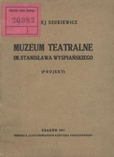 Muzeum teatralne im. Stanisława Wyspiańskiego (Projekt)