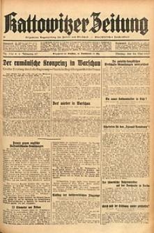 Kattowitzer Zeitung, 1937, Jg. 69, nr116