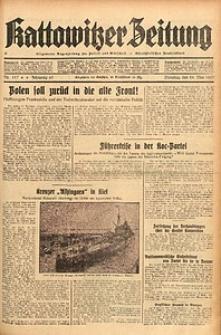 Kattowitzer Zeitung, 1937, Jg. 69, nr117