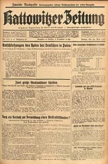 Kattowitzer Zeitung, 1937, Jg. 69, nr119